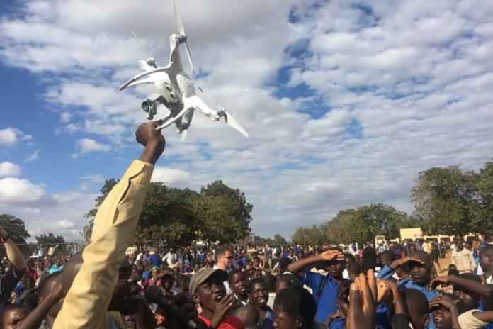 Drones e ajuda humanitária