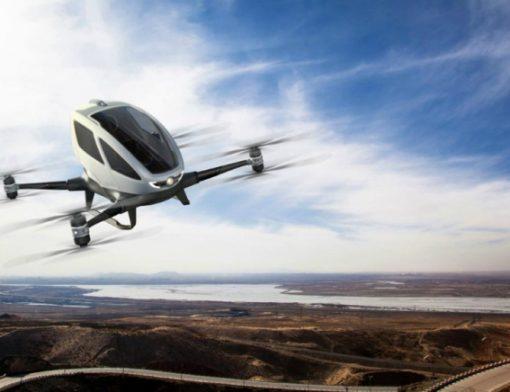Drone como meio de transporte