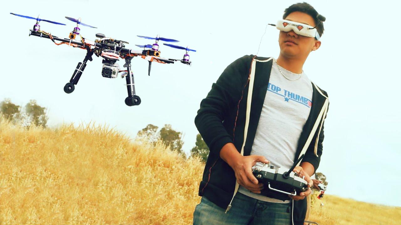 O que é drone FPV