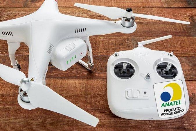porque homologar um drone