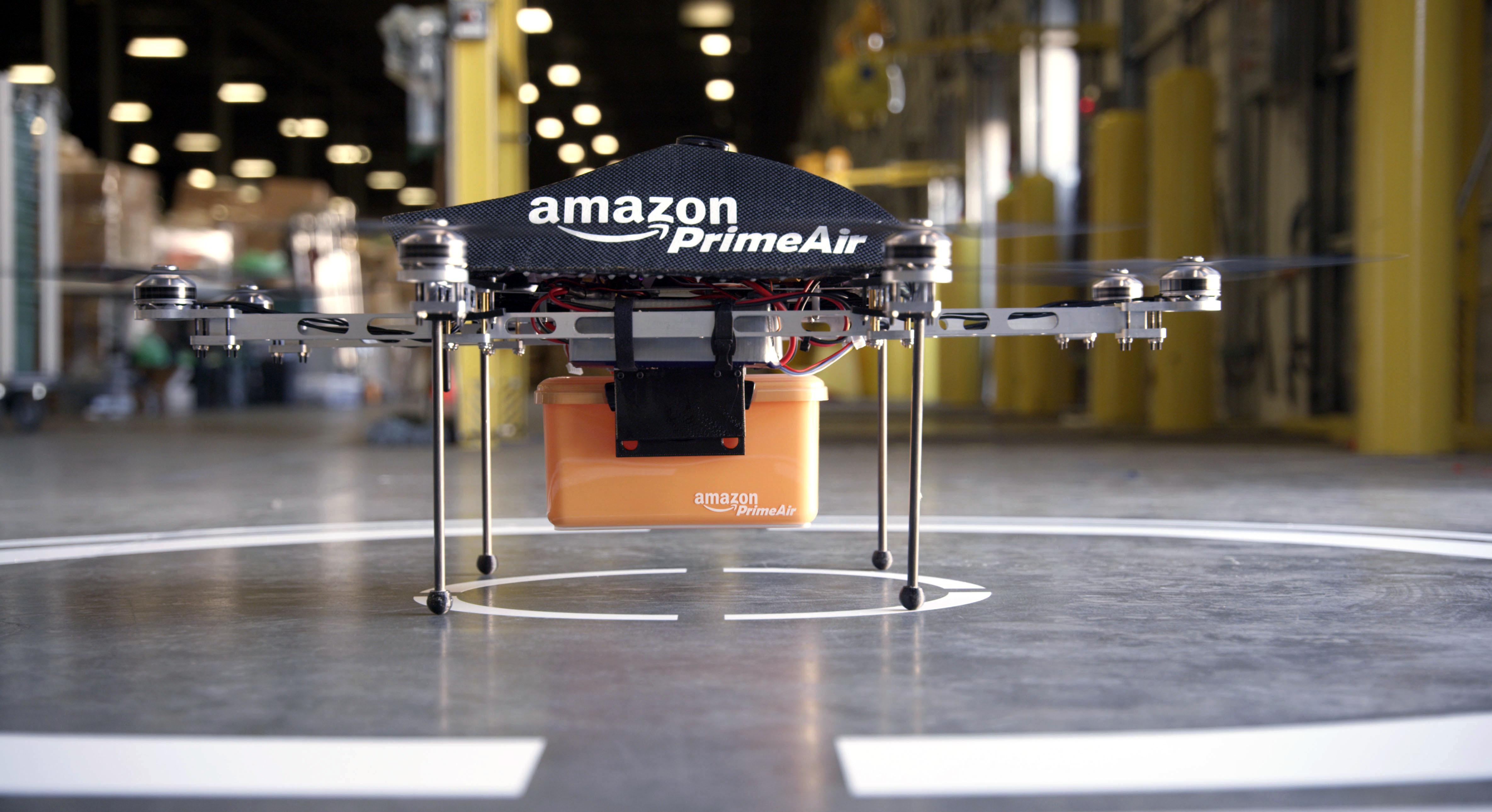 Drones e entregas