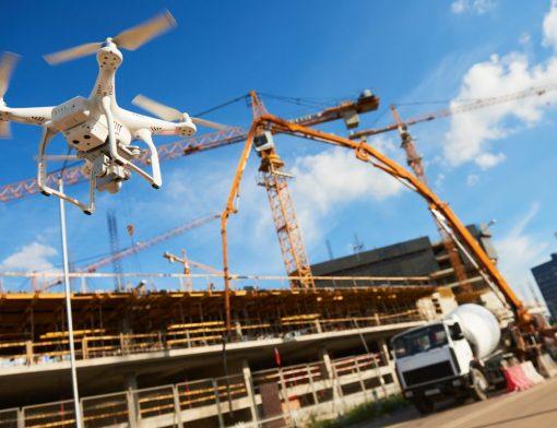 Drones na construção civil