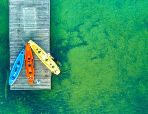 Como voar com drone sobre a água