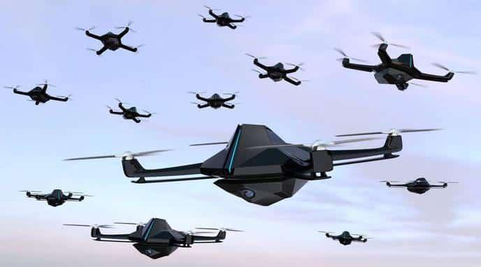 Drones de guerra